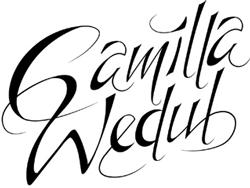 Signatur Camilla Wedul